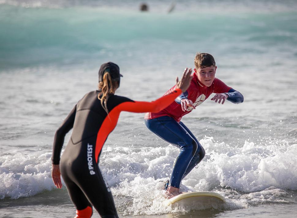 Surfschool Fuerteventura Surflessen voor kinderen | Protest Surfcenter Fuerteventura