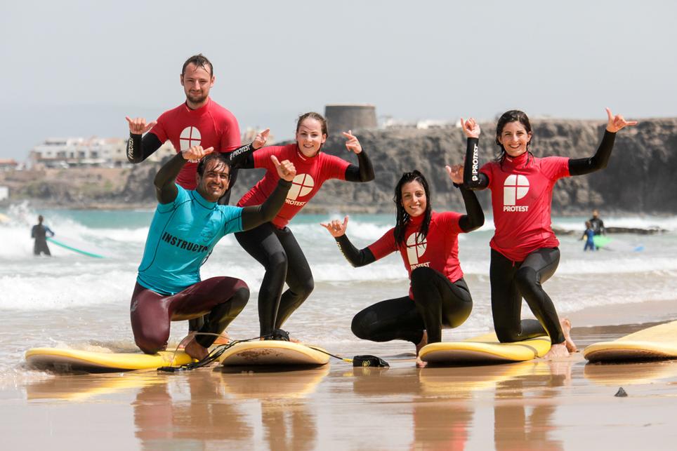 Scoula di Surf principianti| Protest Surfcenter Fuerteventura