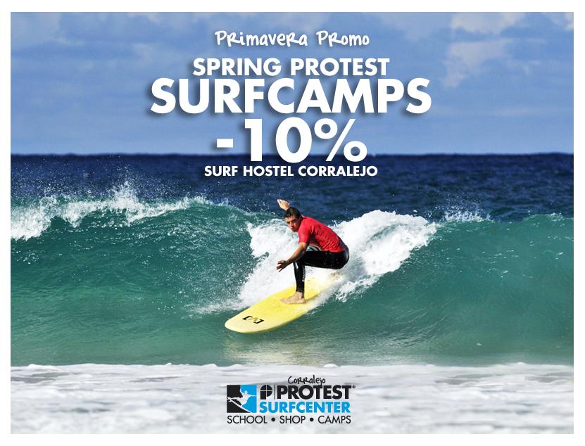 Protest Surfcenter Fuerteventura   Promo Surfcamps Primavera