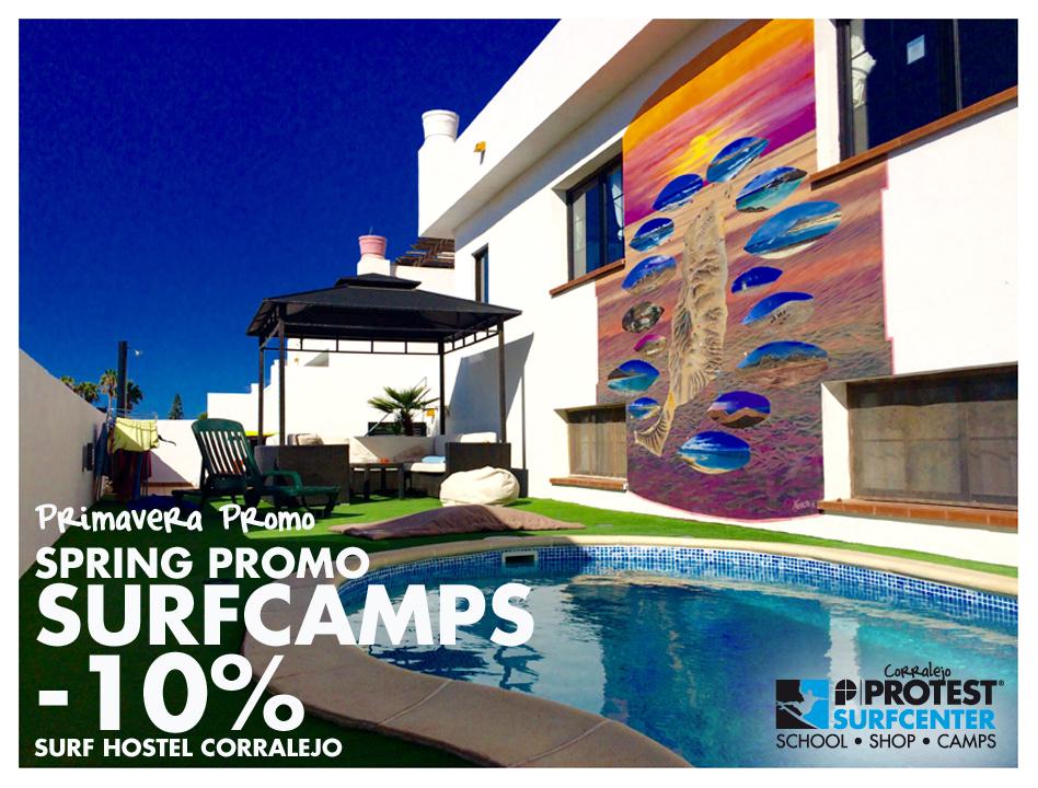 Protest Surfcenter Fuerteventura | Promo Surfcamps Primavera
