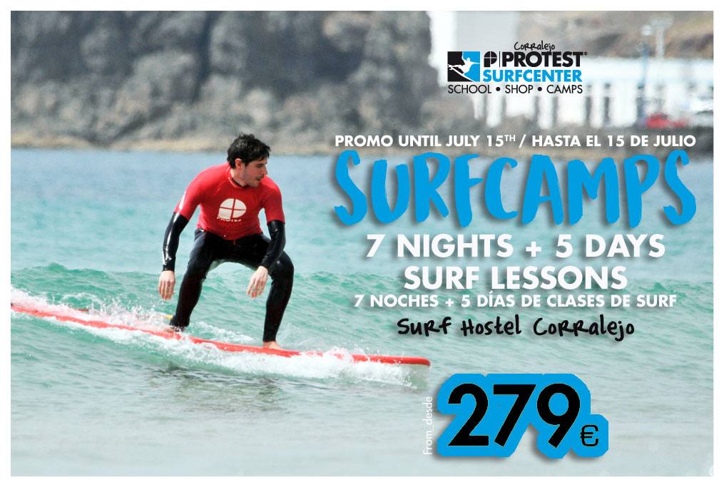Surfcamp en Fuerteventura promo primavera | Protest Surfcenter