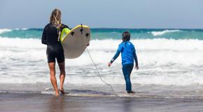 Surf para niños Fuerteventura